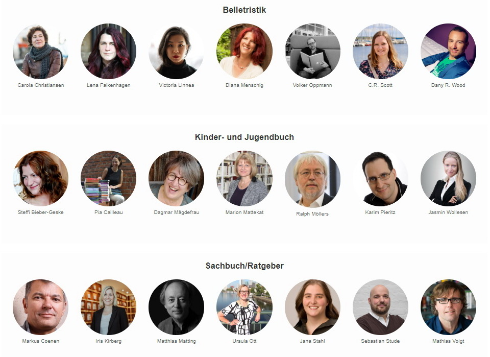 Jury Selfpublishing-Buchpreis 2020