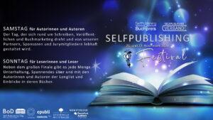 Melde dich jetzt zum Selfpublishing-Festival an!