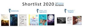 Die Shortlists des Selfpublishing-Buchpreis 2020 stehen fest!