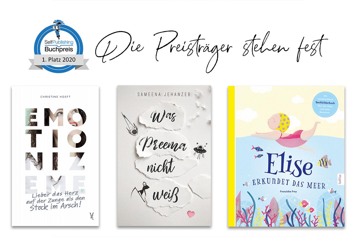 Die Gewinnertitel des Selfpublisher-Buchpreises 2020 stehen fest!