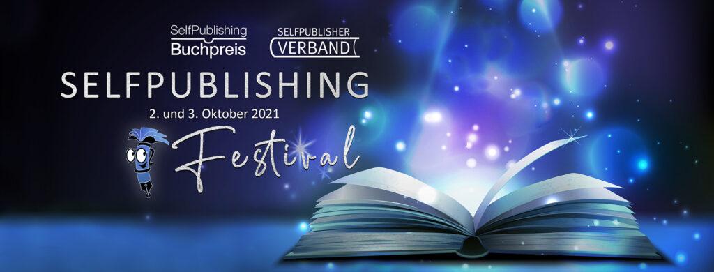 Banner Homepage Selfpublishing Festival Oktober 2021