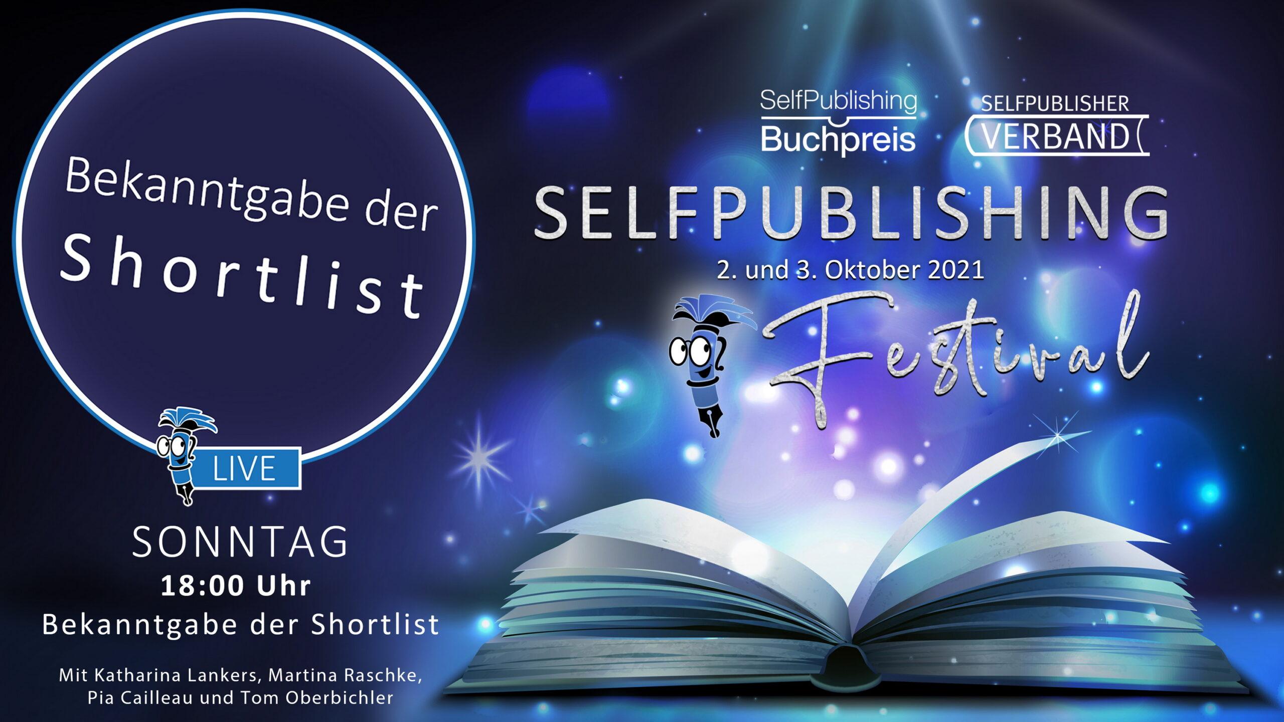 You are currently viewing Das ist die Shortlist des Selfpublishing-Buchpreises 2021
